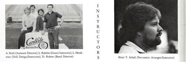 1986-87 Band Staff