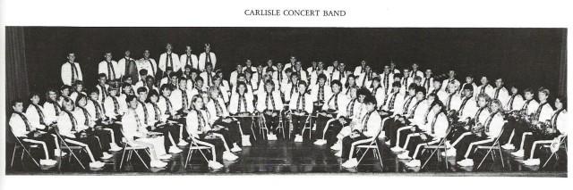 1986-87 Carlisle Concert Band