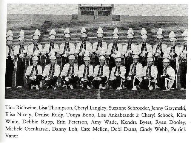 1986-87 Clarinets
