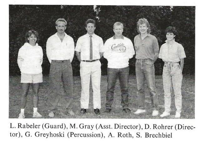 1987-88 Band Staff