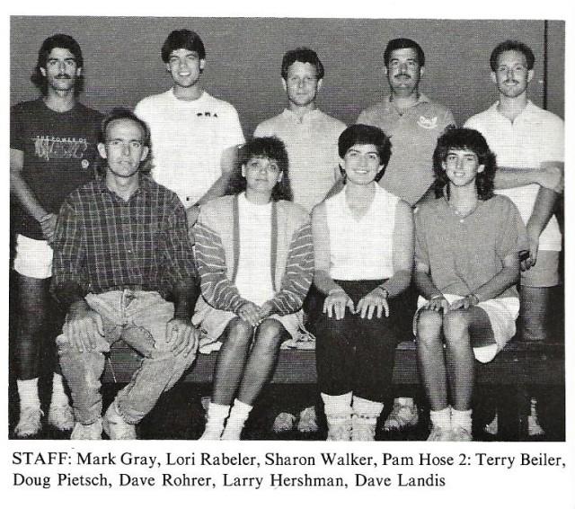1989-90 Band Staff