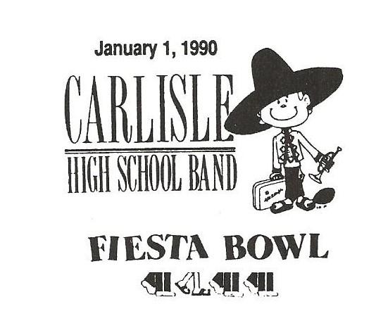 1989-90 Fiesta Bowl Band Logo