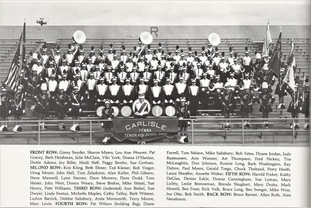 1969-70 CHS Band with Names