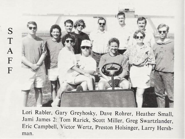 1992-93 Band staff
