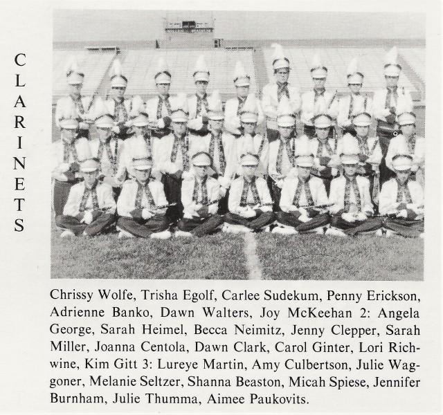 1992-93 Clarinets