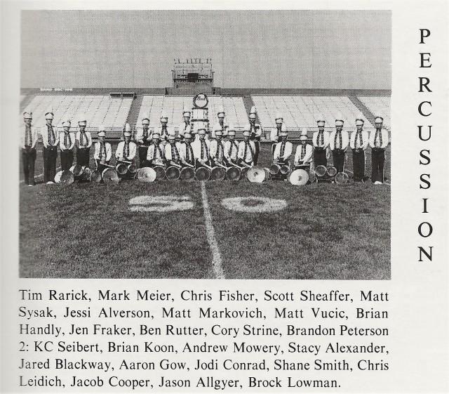 1992-93 Percussion