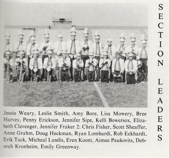1992-93 Section Leaders
