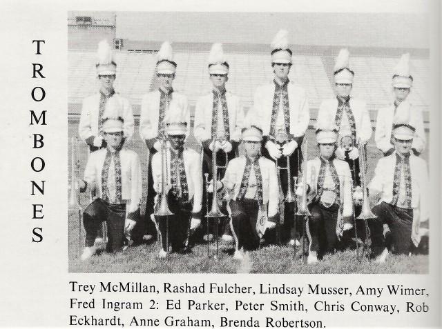 1992-93 Trombones