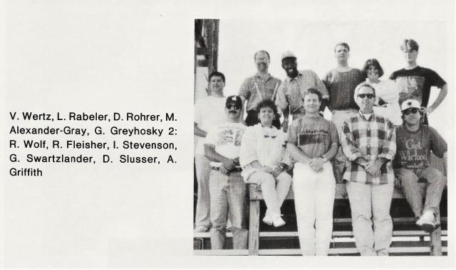 1994-95 Band Staff