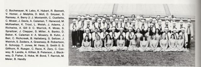 1994-95 CHS Band Seniors