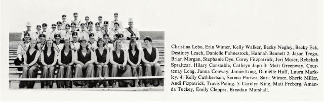 1996-97 CHS Band Seniors