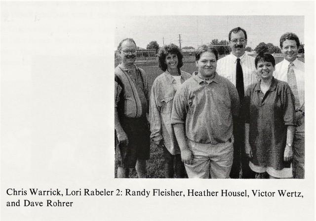 1996-97 CHS Band Staff