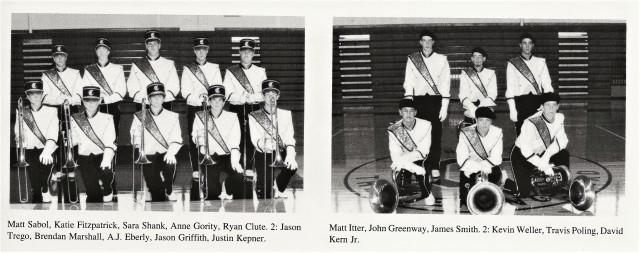 1996-97 Trombones _ Tubas
