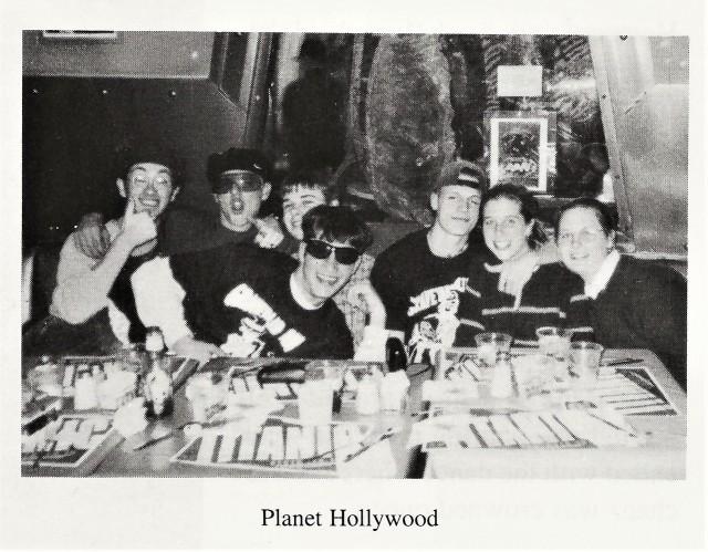 1997-98 Sugar Bowl, Planet Hollywood