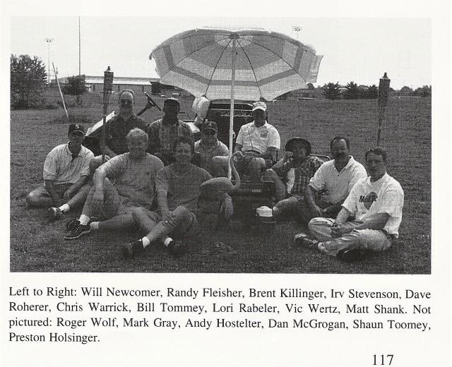 1998-99 CHS Band Staff