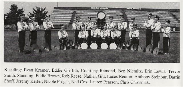 1998-99 CHS Drumline