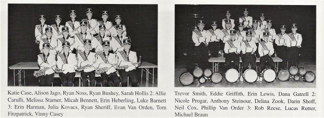 1999-2000 CHS Alto Saxes _ Drumline