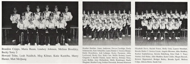 1999-2000 CHS Flugals, Clarinets, and Flutes