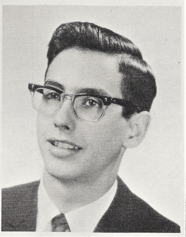 Paul Sheaffer Jr. Drum Major 1962-63